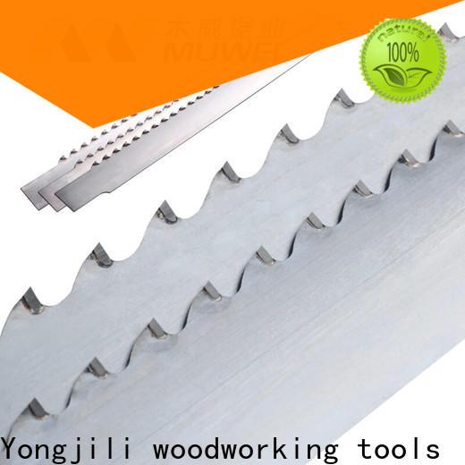 Muwei carbide craftsman 10 inch band saw blades manufacturer for frozen food processing plants