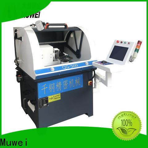 Muwei hot sale bench belt sander manufacturer for frozen food processing plants