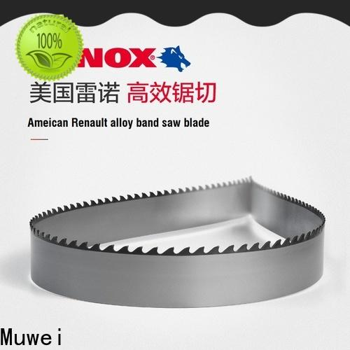 Muwei high quality band saw blade manufacturer for shaping machine