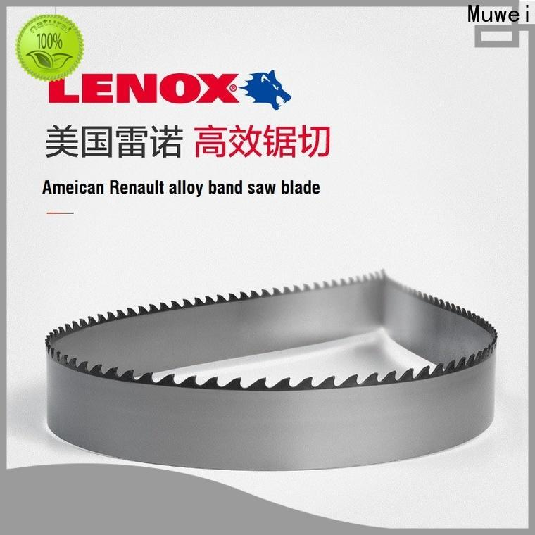 Muwei hard curve 80 inch band saw blade factory direct for furniture
