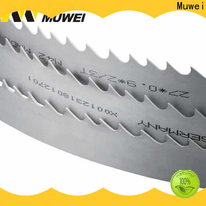 Muwei steel best band saw blade for metal wholesale for wood sawing