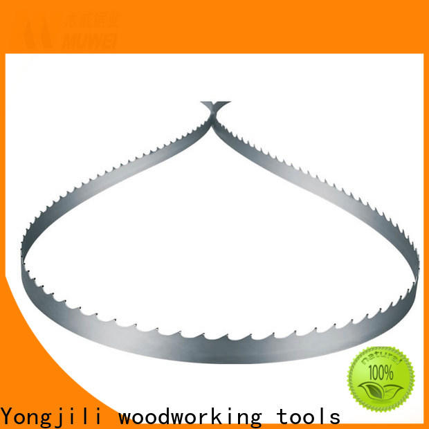 Muwei carbide band saw blade supplier for wood sawing
