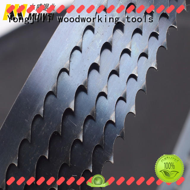 efficient metal cutting band saw blades hard curve supplier for wood sawing