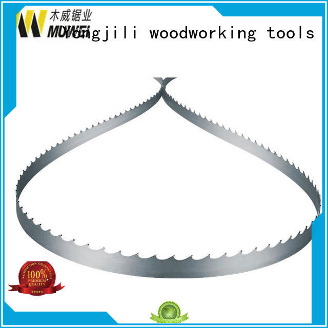 Muwei efficient frame band saw blade hard curve for wood sawing