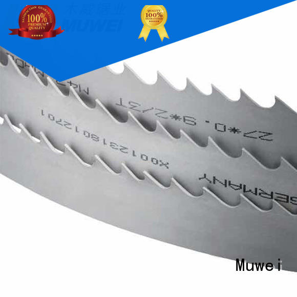 Muwei hard curve band saw blades near me manufacturer for furniture