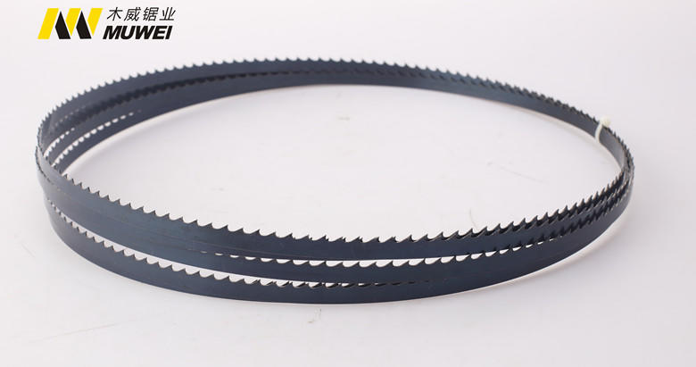 Muwei hard curve 80 inch band saw blade factory direct for wood sawing-1
