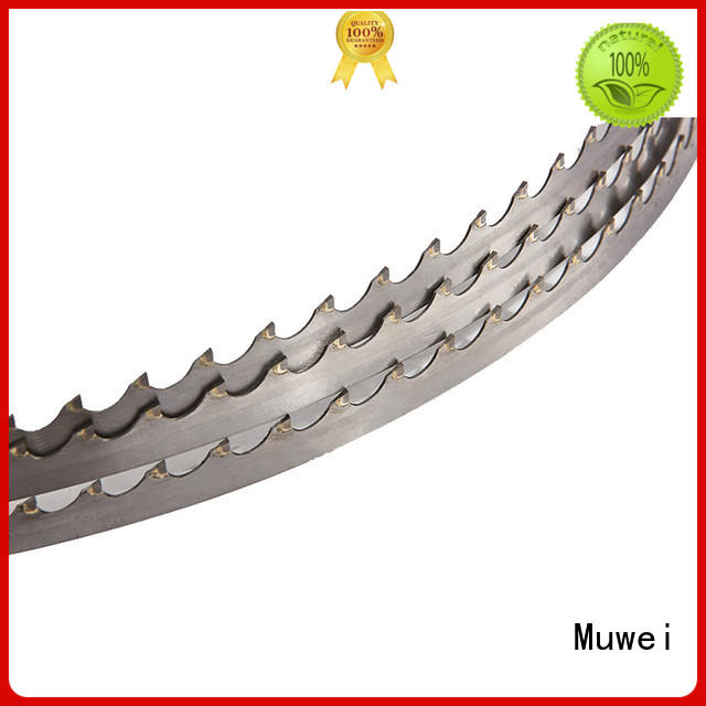 Muwei carbide carbide band saw blade manufacturer for wood sawing