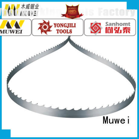 Muwei stellite alloy craftsman 10 inch band saw blades supplier for wood sawing