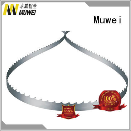Muwei efficient carbide band saw blade factory direct for furniture